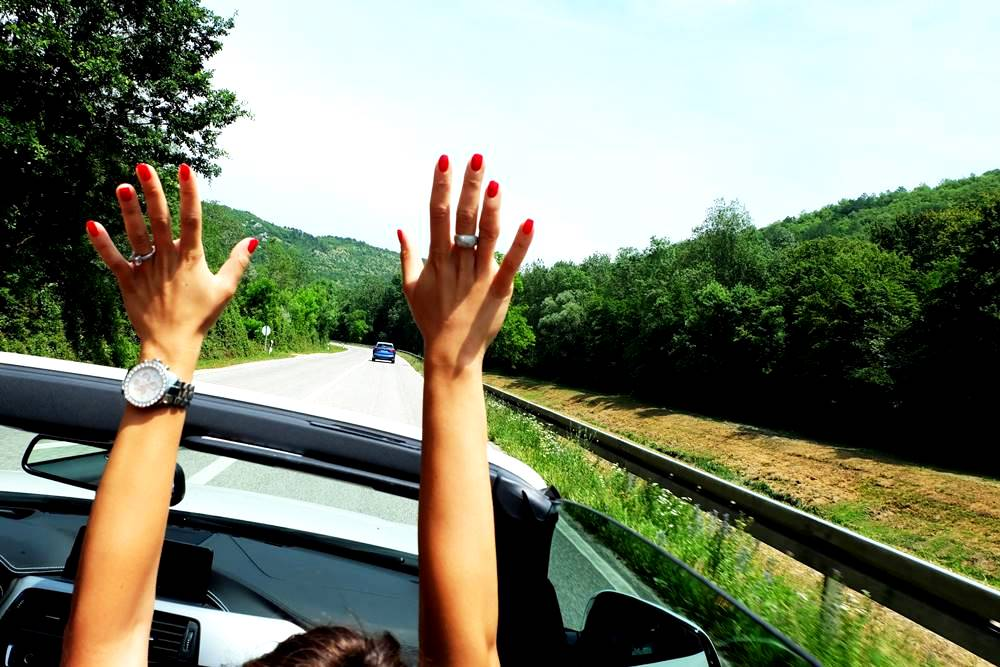 Bild 1 BMW Cabrio Istrien Kroatien