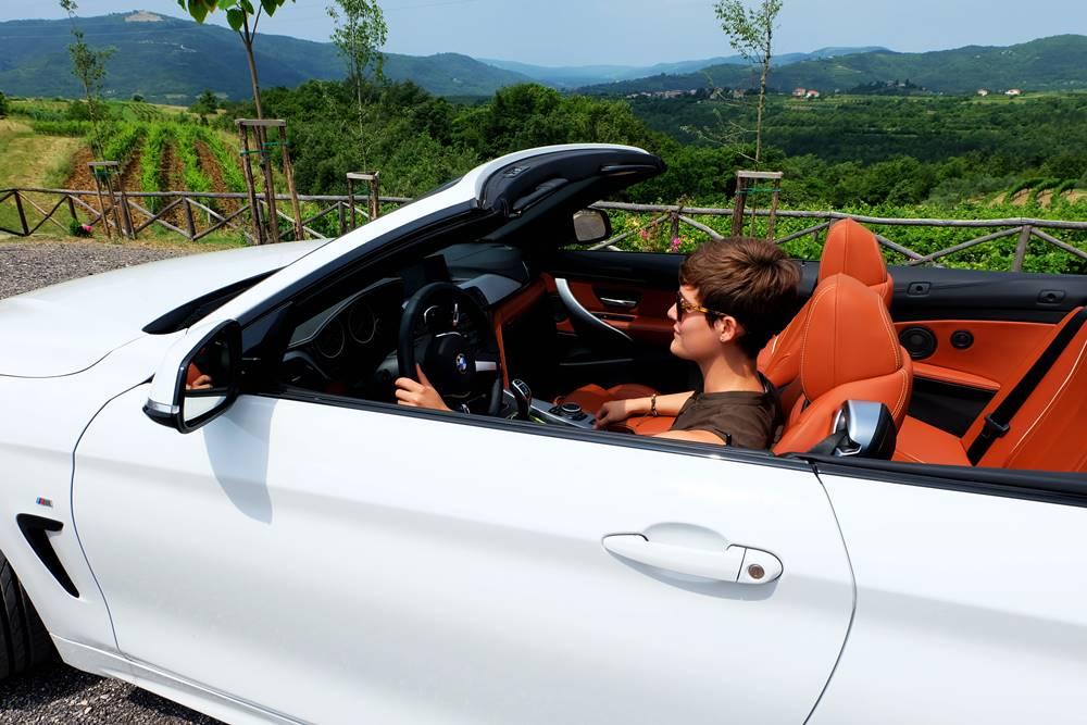 Bild 11 BMW Cabrio Roadtrip Reiseblogger Istrien Kroatien