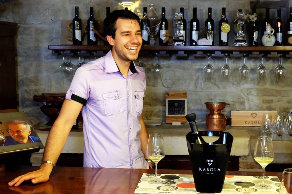 Bild 16 Weingut Kabola Weinprobe Istrien Kroatien