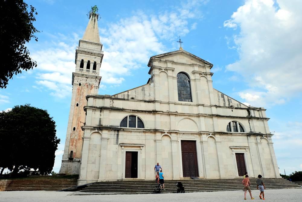 Bild 19 Kirche der Heiligen Euphemia Altstadt Rovinj Istrien Kroatien