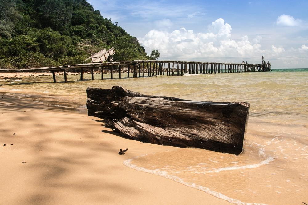 Kambodscha Koh Rong Samloem Lazy Beach 3