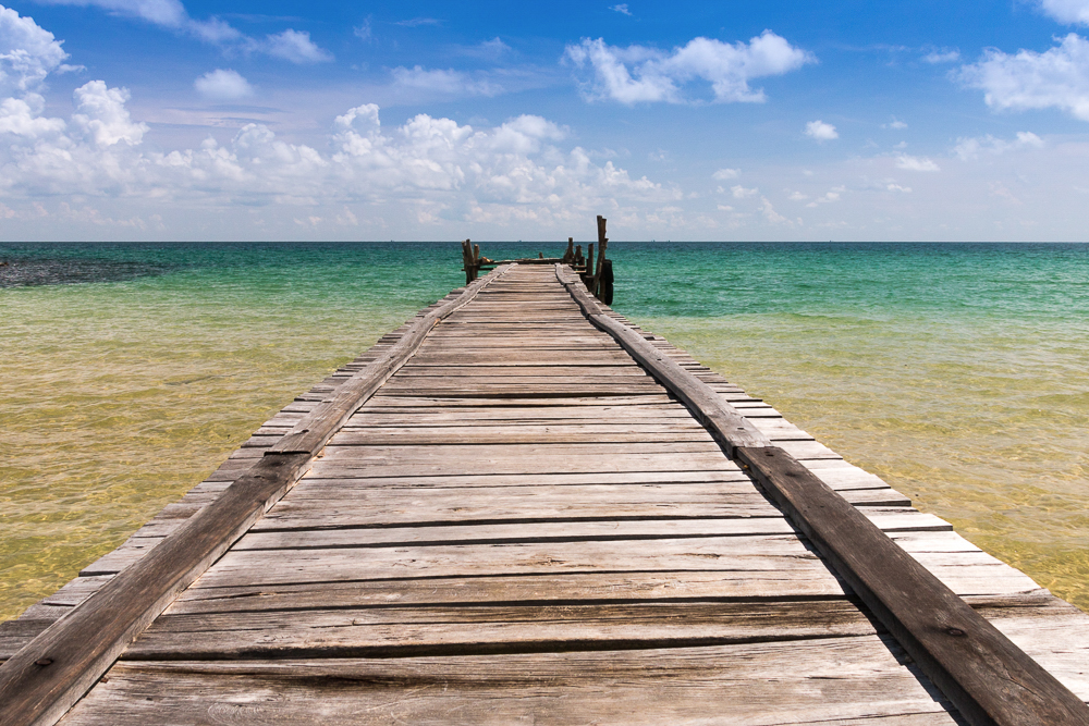 Kambodscha Koh Rong Samloem Lazy Beach 4