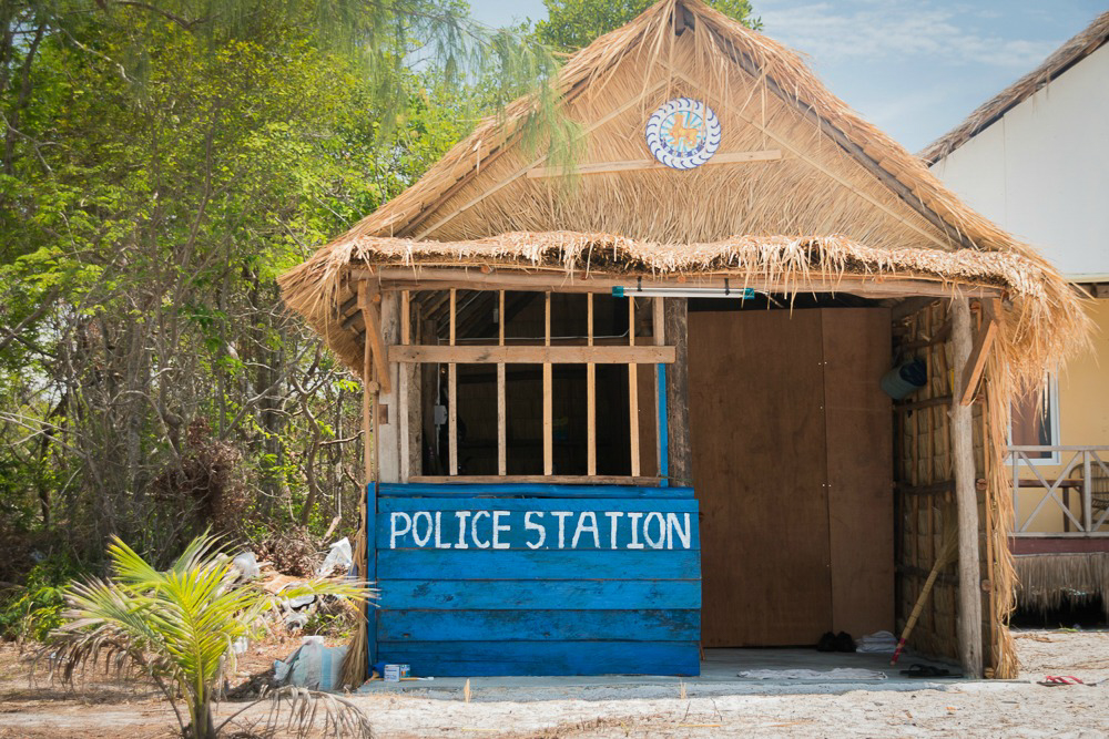 Kambodscha Koh Rong Samloem Police Station