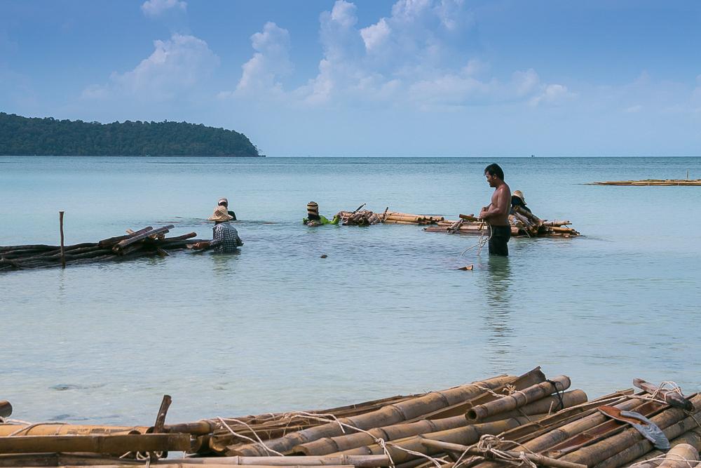 Kambodscha Koh Rong Samloem Saracen Bay 5