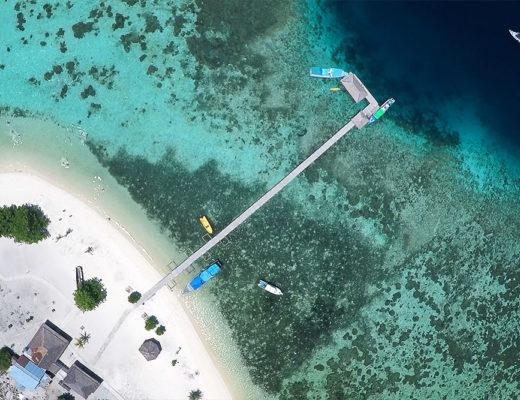 Luftaufnahme mit der Drohne