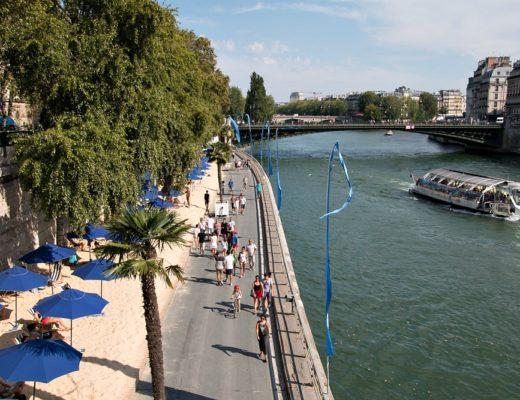 Paris im Sommer