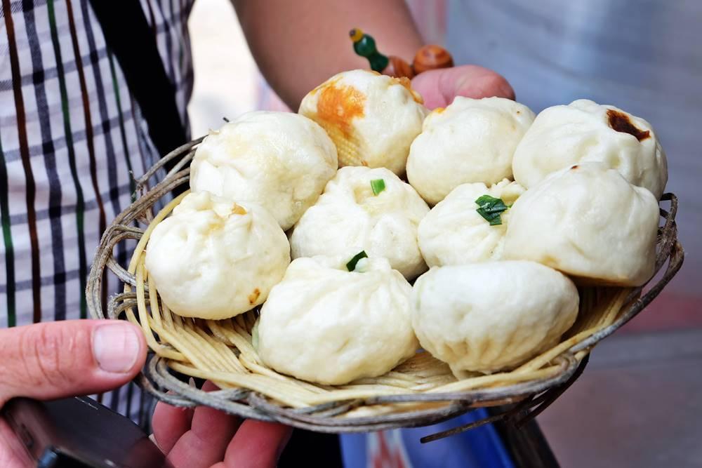 1 Baozi China Shandong Küche Essen