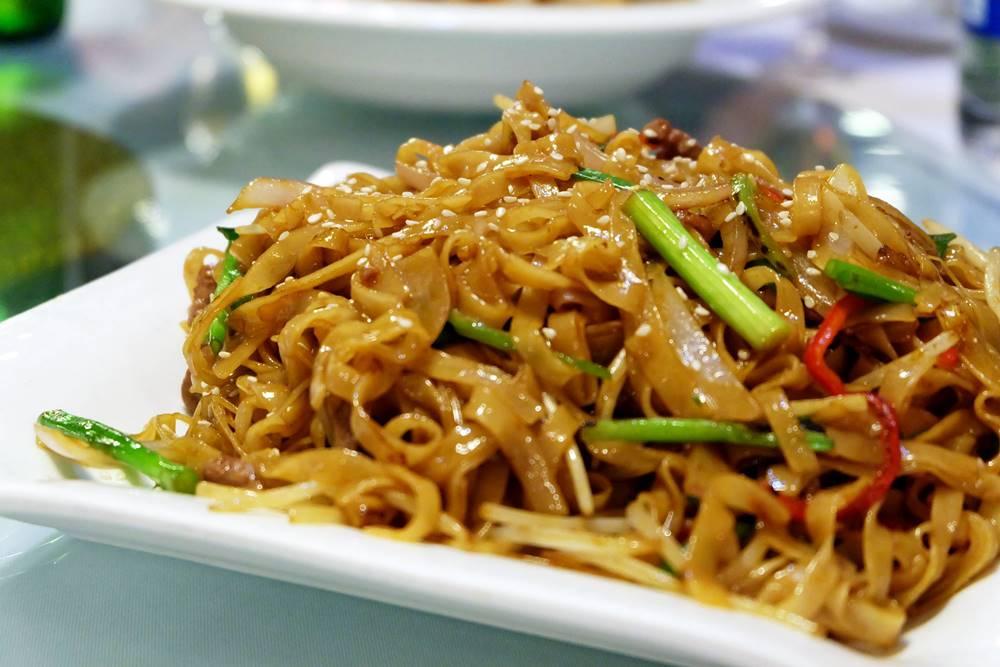 13 Gebratene Nudeln Shandong Küche Essen China