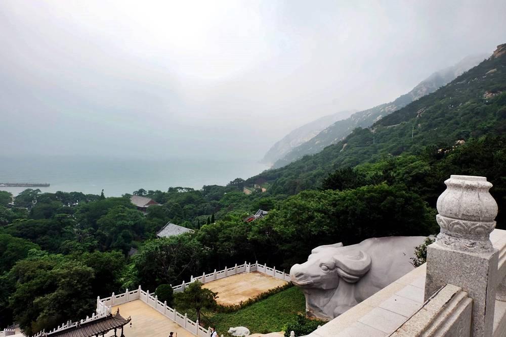 15 Ausblick Laoshan Gebirge Shandong China