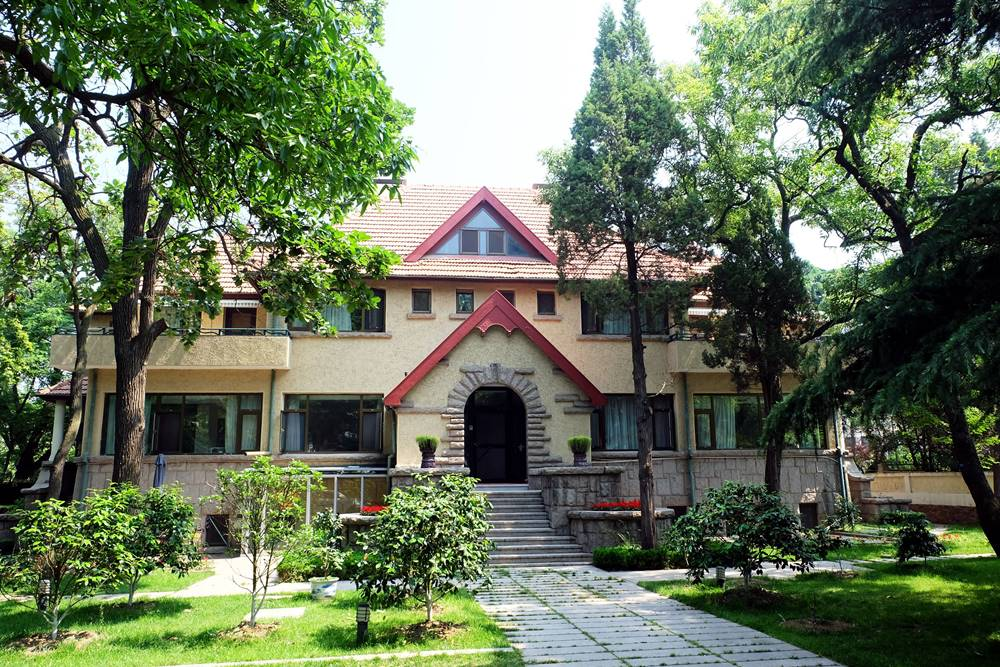 3 Deutsche Villa Badaguan Viertel Qingdao Shandong China