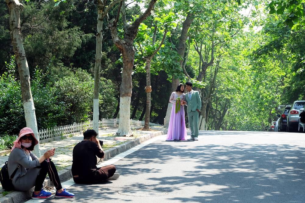 4 Shooting Hochzeit Allee Badaguan Viertel Qingdao Shandong China