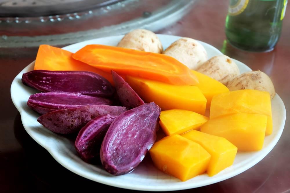 9 Shandong Essen Gemüse Küche China