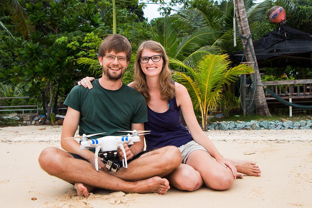 Bina Francis myroadde Reiseblog Reiseblogger Drohne