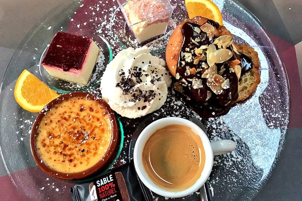 Cafe Gourmand L'Apostrophe Restaurant Reims Frankreich