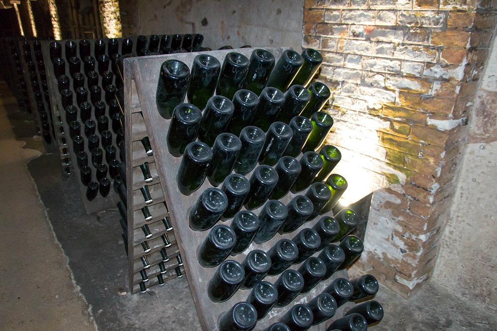Champagner Pommery Weinkeller Reims Frankreich