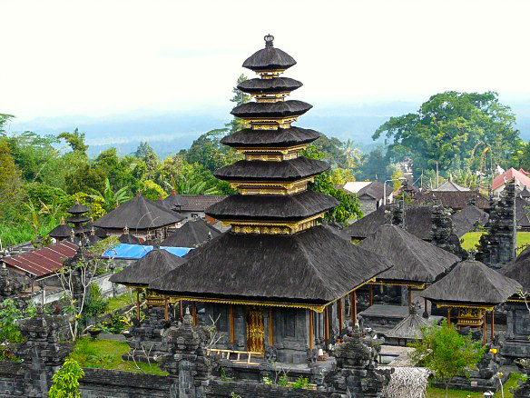 Indonesien Bali Tempel Weltreise
