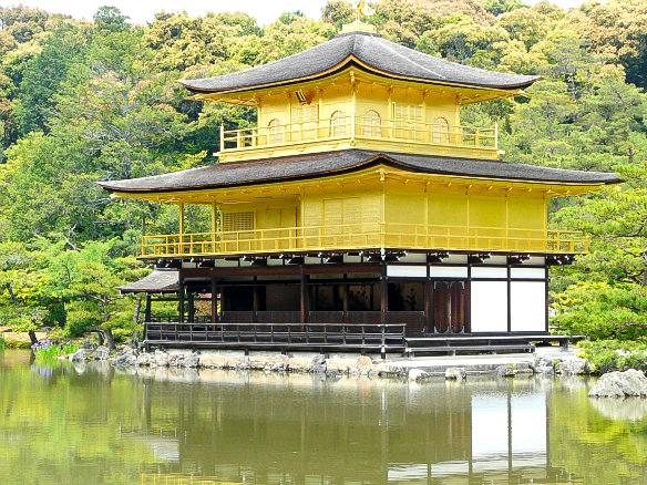 Japan Kyoto Kinkaku-ji Golden Pavilion Weltreise