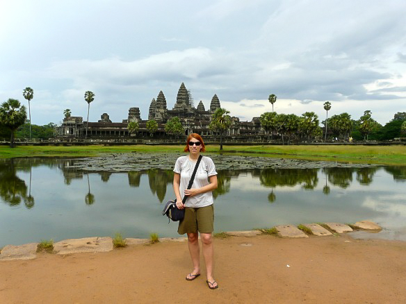 Kambodscha Angkor Wat Reiseblogger Anja Beckmann Weltreise