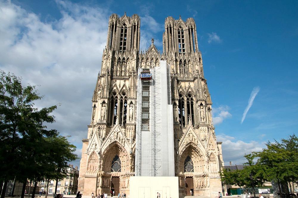 Kathedrale Notre-Dame Kirche Reims Frankreich