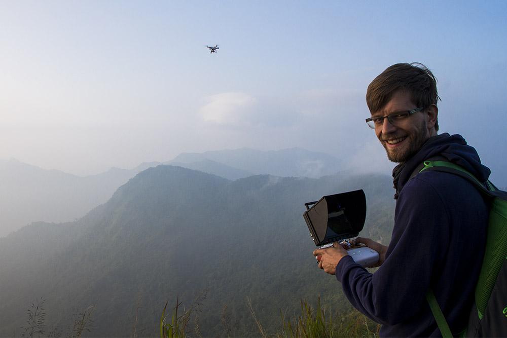 Phu Chi Fa Thailand Drohne Reiseblogger