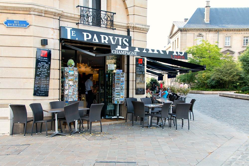 Reims Champagner Bar Frankreich