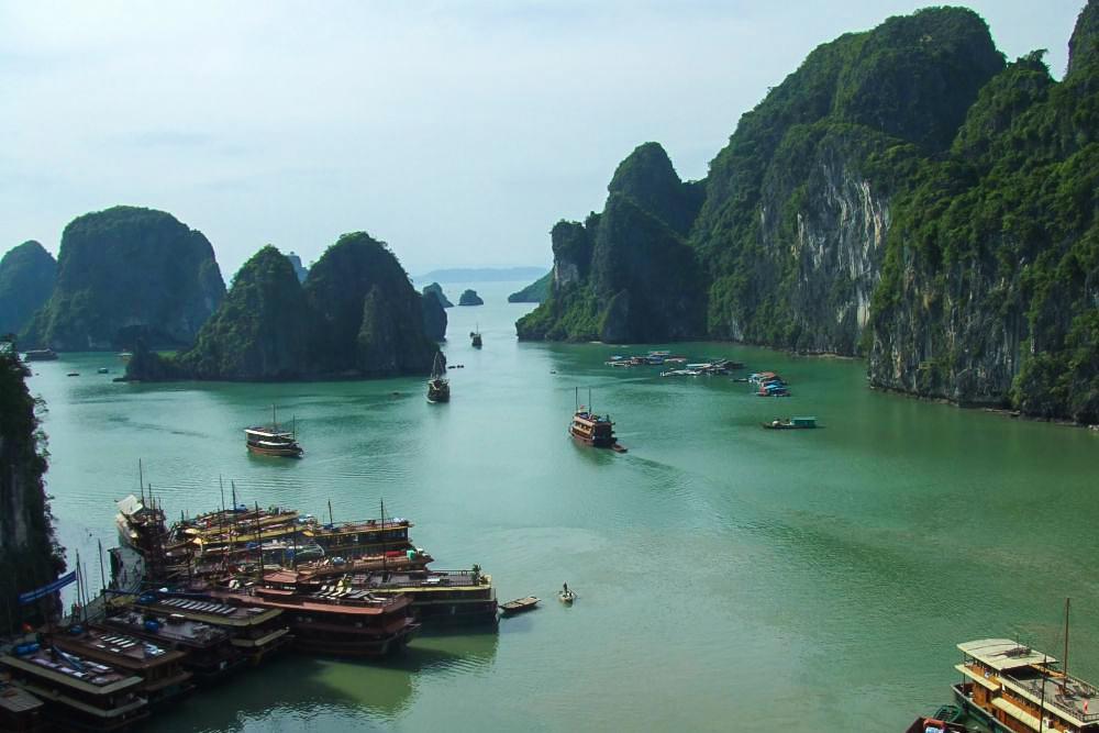Weltreise Vietnam Halong Bucht Reiseblog