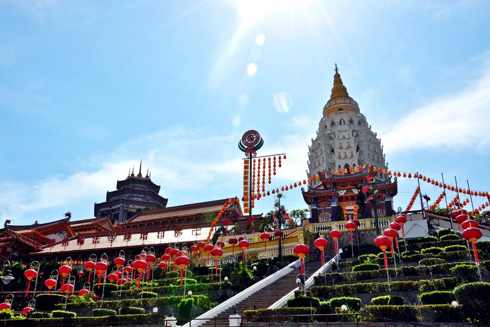 0 Kek Lok Si Tempel Pagode Penang Malaysia Reiseblog