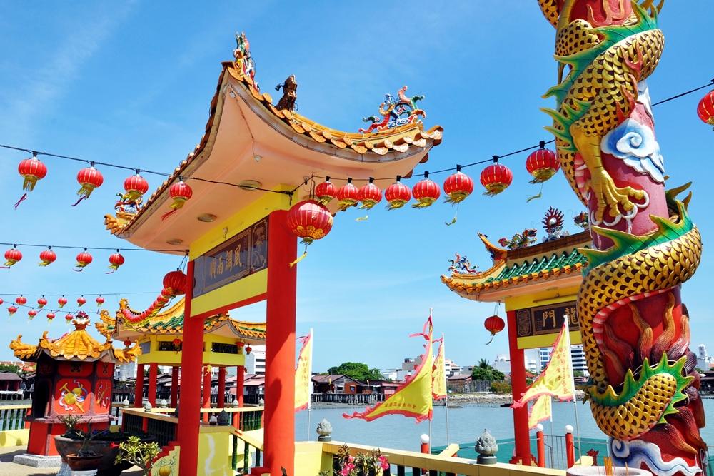 1 Tempel George Town Insel Penang Malaysia