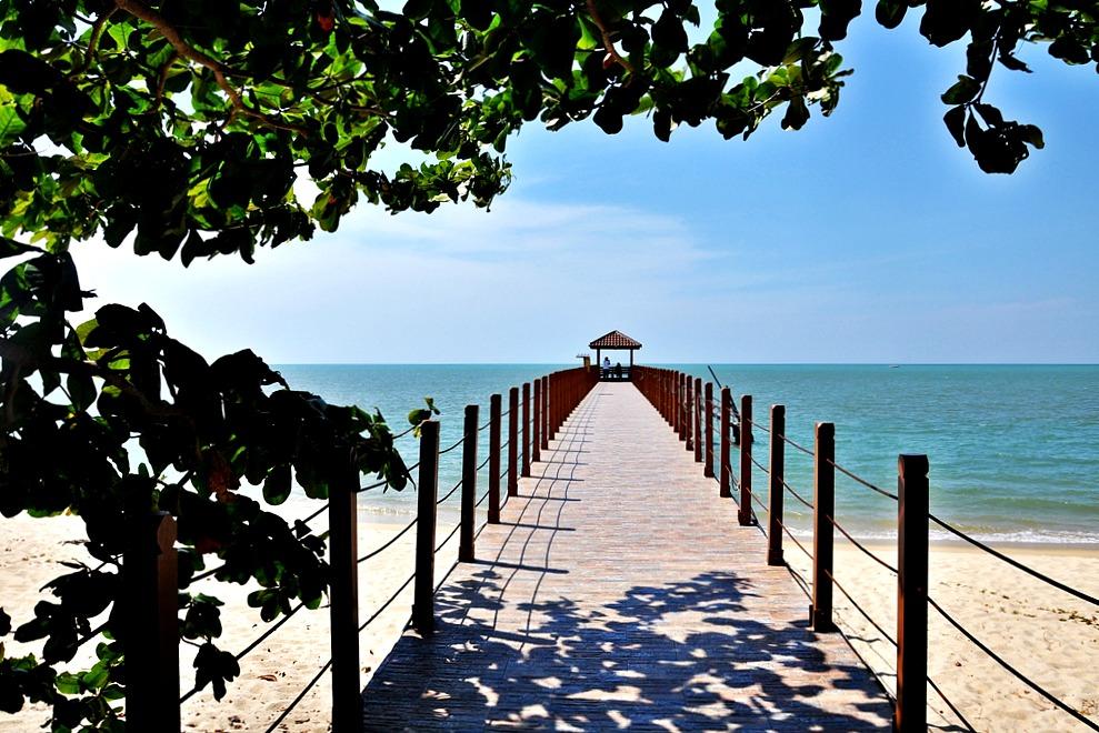 11 Strand Meer Turtle Beach Penang Nationalpark Malaysia