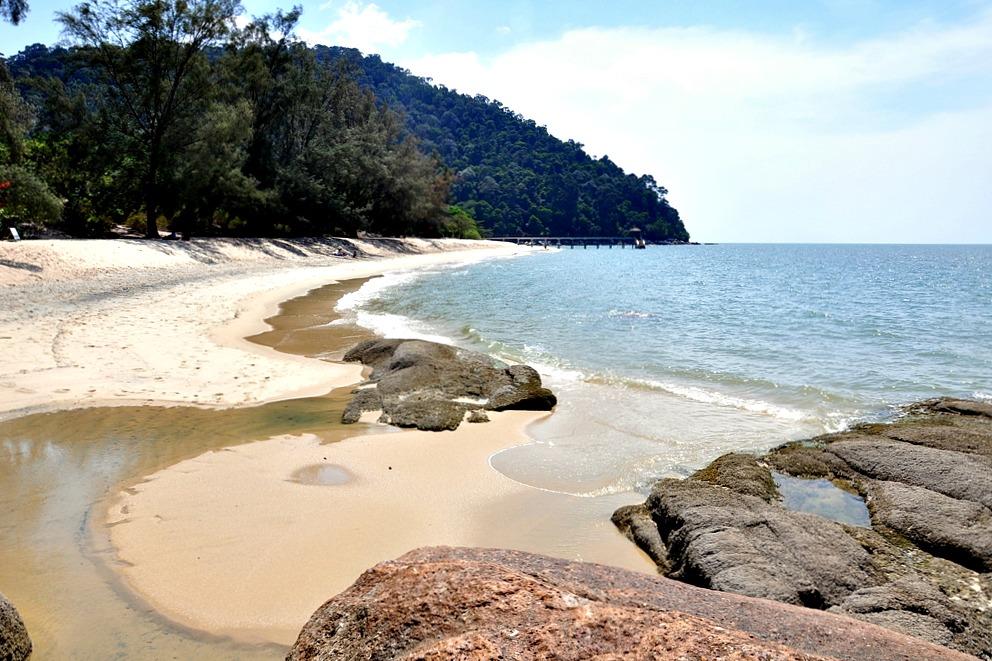 12 Turtle Beach Strand Meer Penang Nationalpark Malaysia