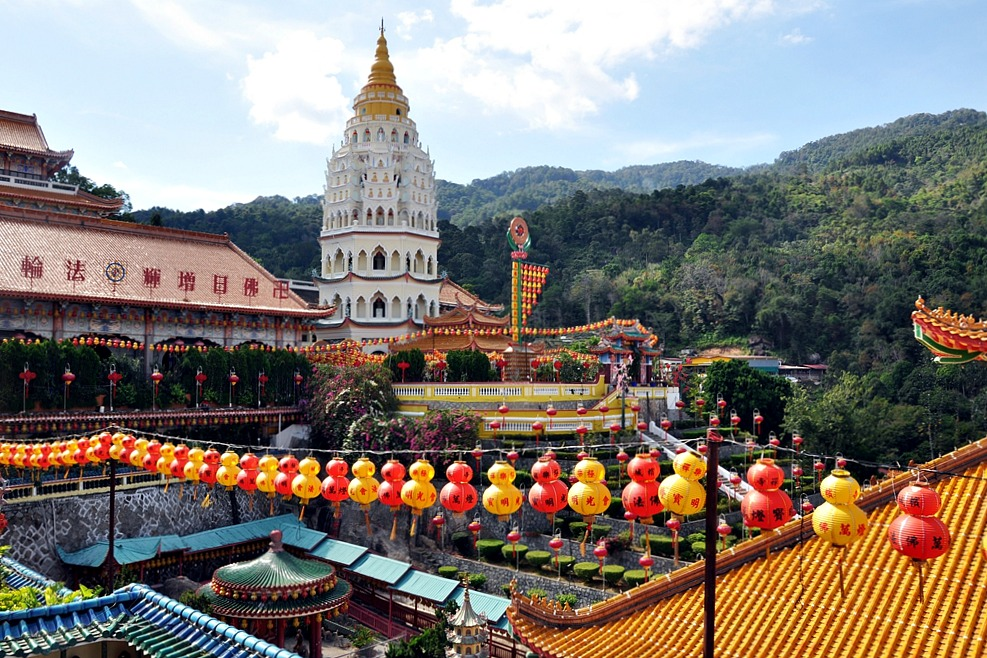 14 Kek Lok Si Tempel Pagode Air Itam George Town Malaysia