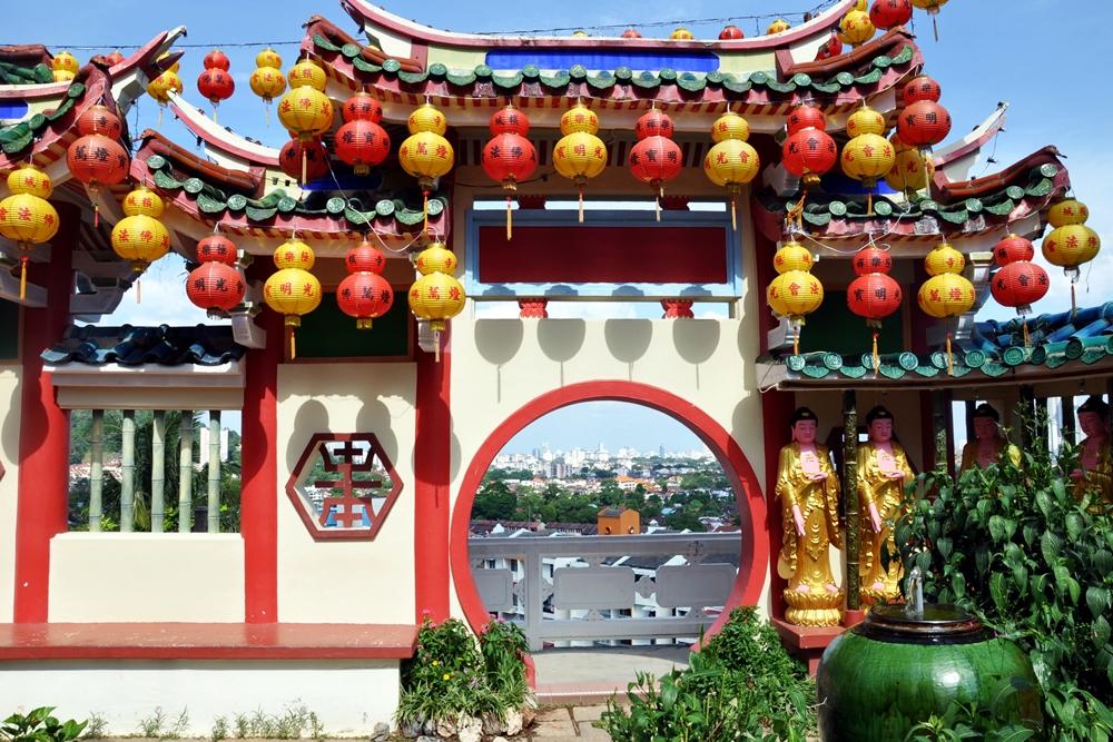 15 Kek Lok Si Tempel Aussicht Air Itam George Town Malaysia