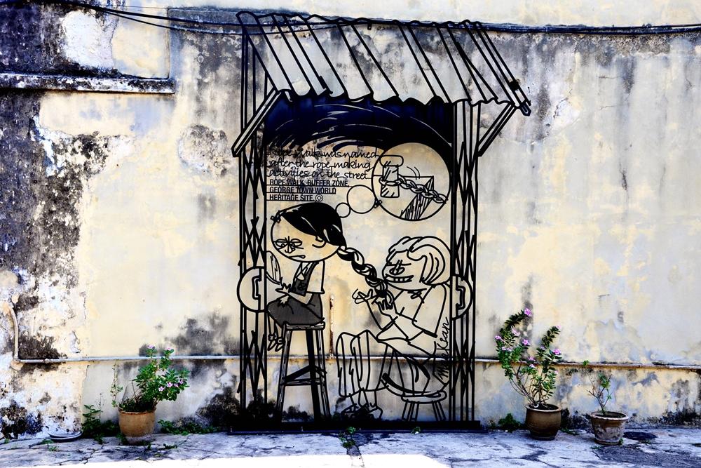 2 Street art George Town Penang Malaysia