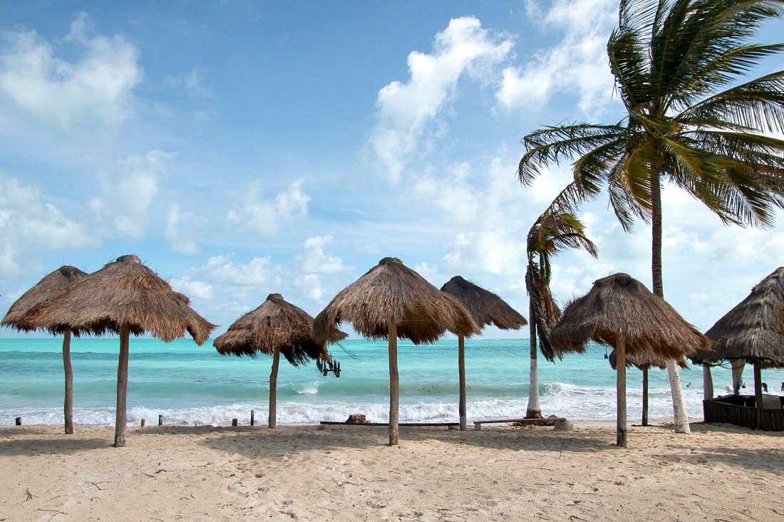 Strand in Mexico
