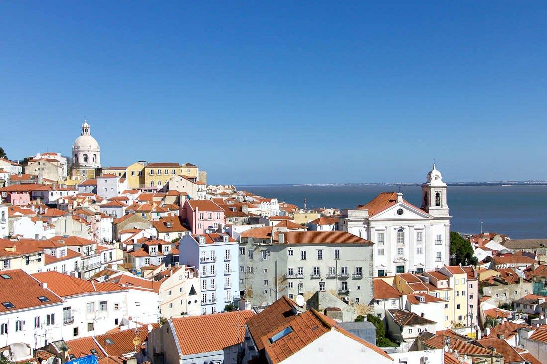 Herbst Reiseziel Lissabon