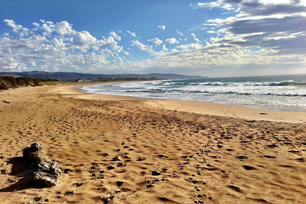 Strand an der Great Ocean Road