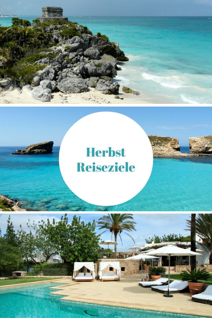 Im Reiseblog verrate ich dir meine 7 liebstenHerbst Reiseziele für Europa und Fernreisen, das umfasst Städtereisen und Strandurlaub mit viel Sonne.