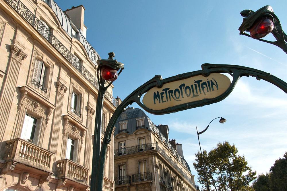 Metro Paris öffentlicher Verkehr