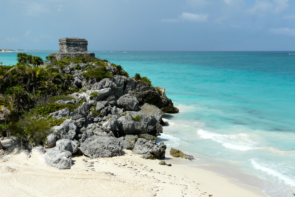 mexiko-tulum-mayaruine-strand-meer-luxus-reiseblog