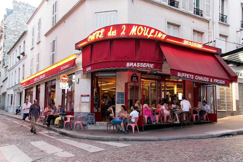 Paris Café des Deux Moulins De fantastische wereld van Amélie