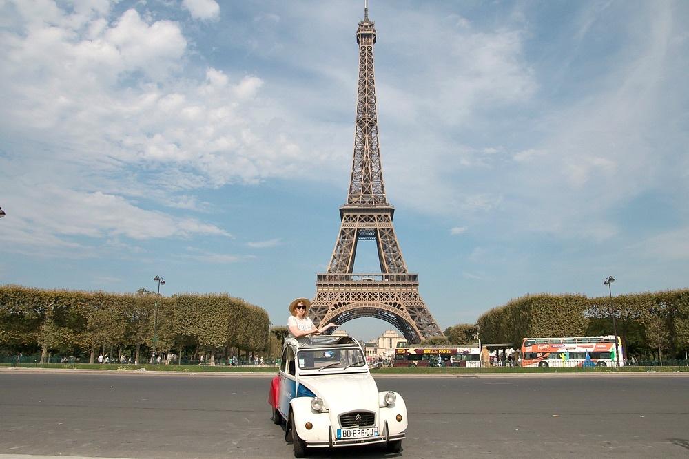 Paris Stadtrundfahrt mit Ente (Citroen 2CV)