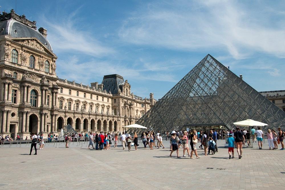 Parijs Louvremuseum