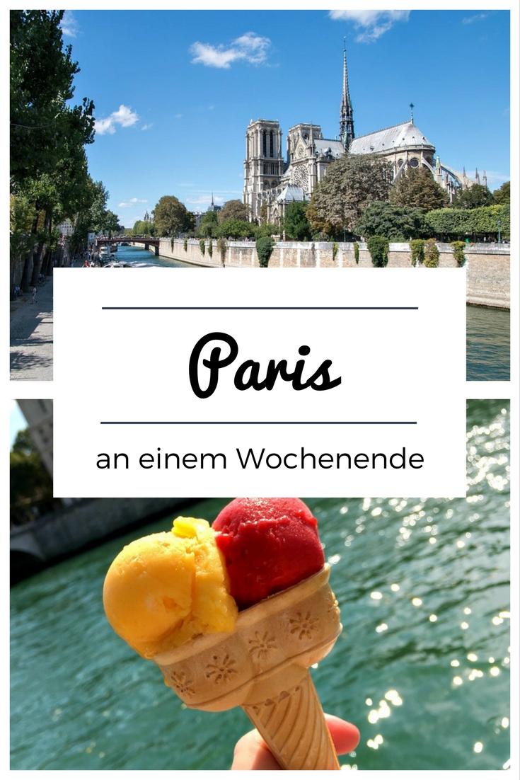 Paris (Frankreich): Im Reiseblog gebe ich dir Tipps für ein Wochenende im Sommer – mit Hotel, Restaurants, Cafés und Eisdielen sowie Sehenswürdigkeiten wie dem Stadtstrand Paris Plages, Freibad, Beachbars und einer Tour mit dem Boot.