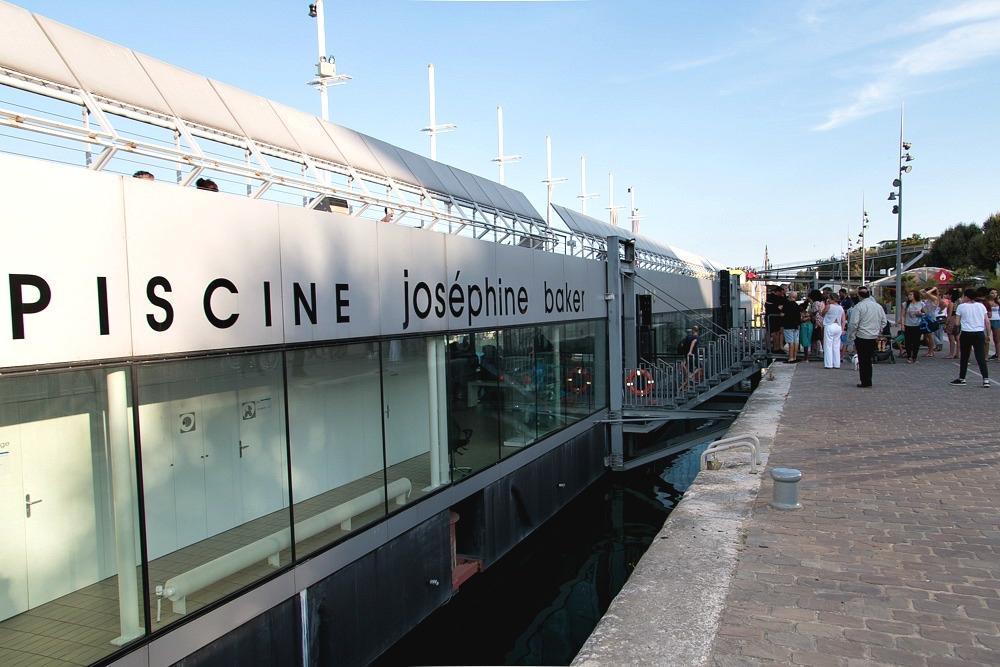 Piscine Joséphine-Baker Paris Badeschiff Schwimmbad Seine Sommer