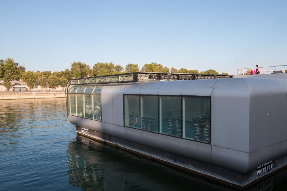 Piscine Joséphine-Baker Paris Badeschiff Schwimmbad Seine