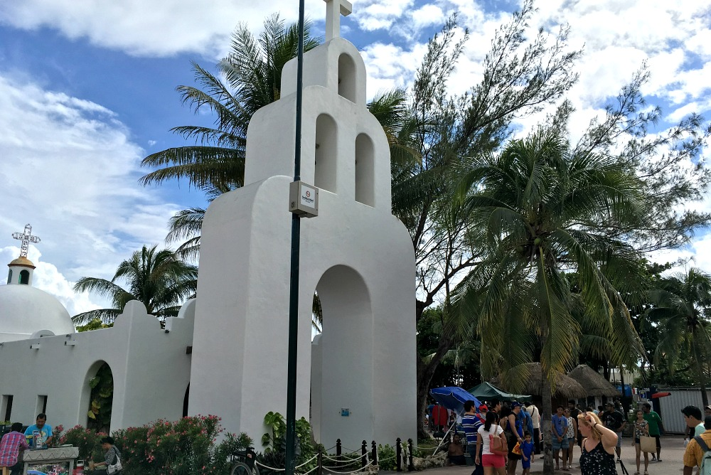 Kirche in Playa del Carmen