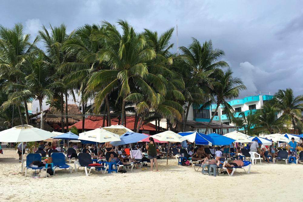 Playa del Carmen: Strand