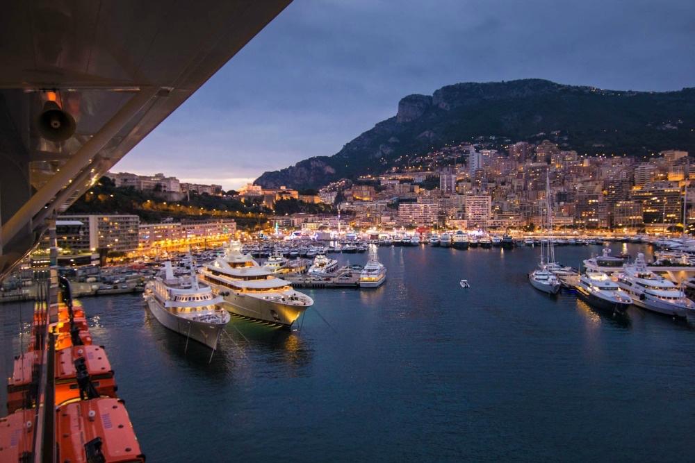 Mein Schiff 5 in Monaco