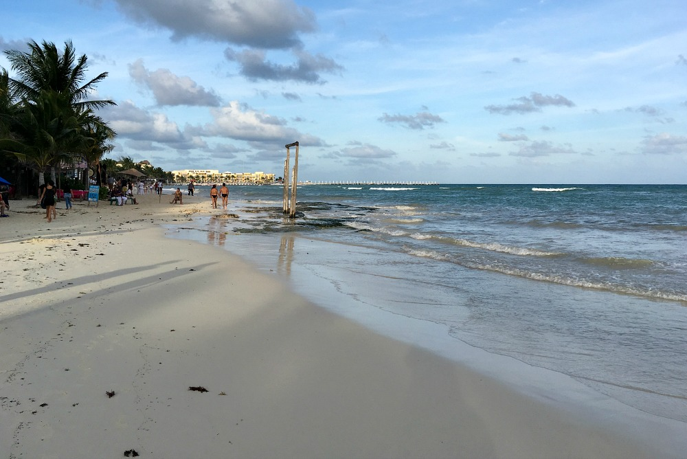 Strand in Playa del Carmen