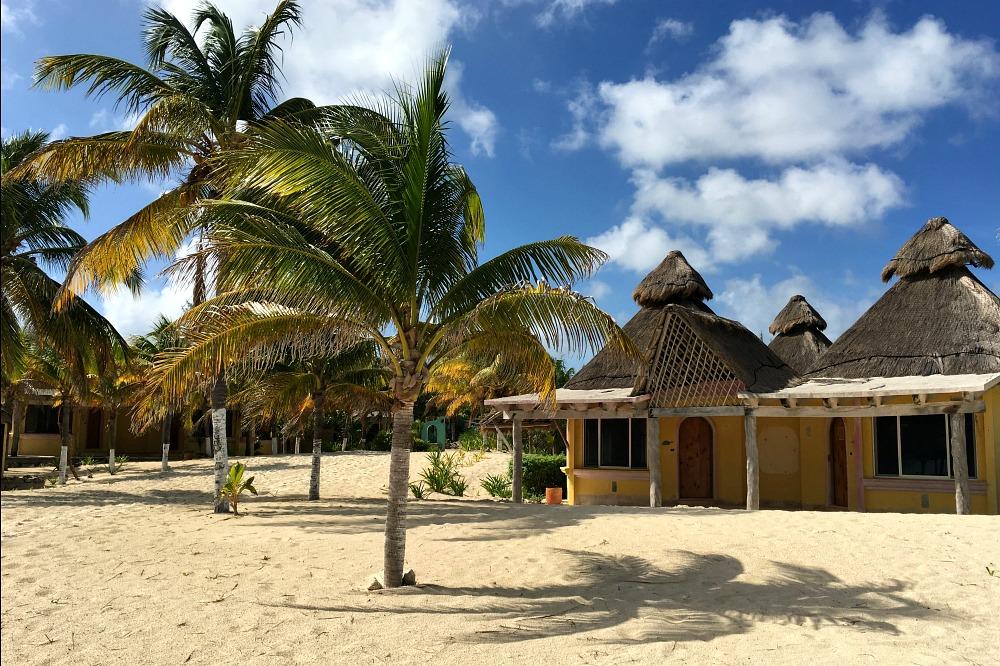 Strand Isla Blanca, Cancun, Mexiko